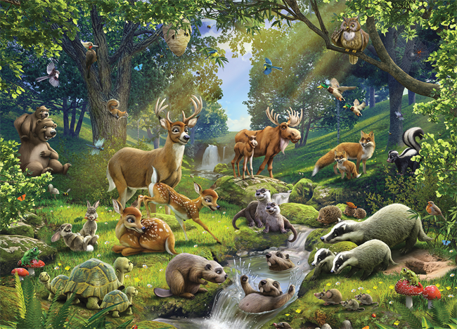 Sounds of forest animals for children