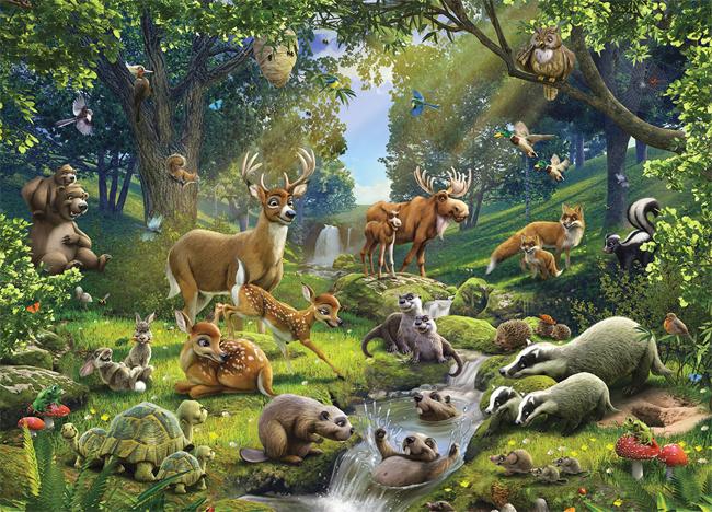 Enjoyable Sounds Of Forest Animals For Children Listen Online Short Hairstyles Gunalazisus
