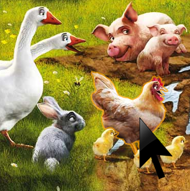 The sound of chicken, pig and geese online